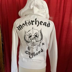 Motörhead England  Rock n' Roll Patch Hoodie